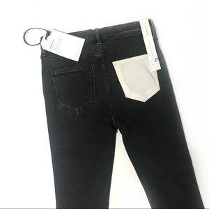 Current Elliott Ultra High waist skinny jeans